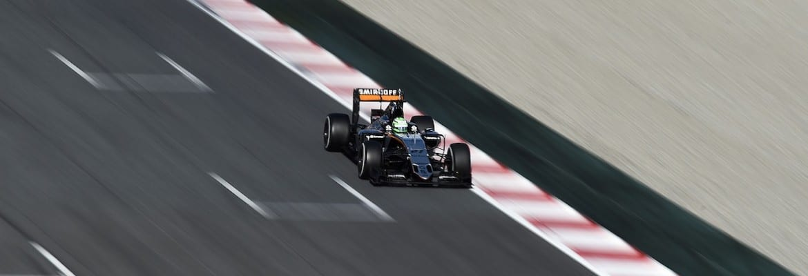 Nico Hulkenberg (Force India) - Testes Barcelona