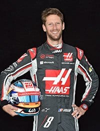 Romain Grosjean - Portrait