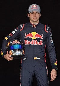 Carlos Sainz Jr. - Portrait