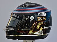 Lance Stroll - Capacete