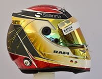 Pascal Wehrlein - Capacete