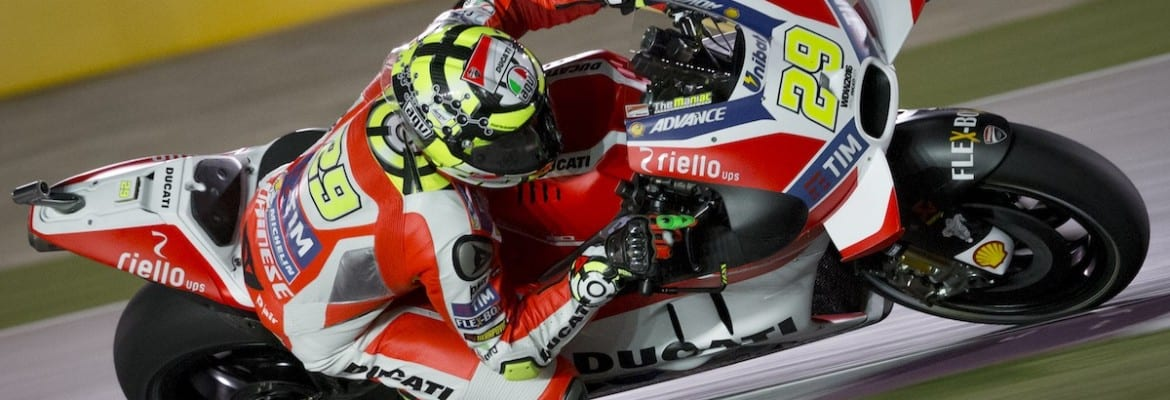 Andrea Iannone (Ducati) - GP do Qatar