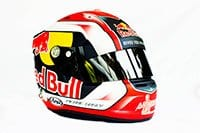 Pierre Gasly (Toro Rosso) - Capacete