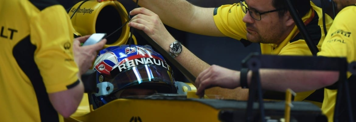 Jolyon Palmer (Renault) - GP da China
