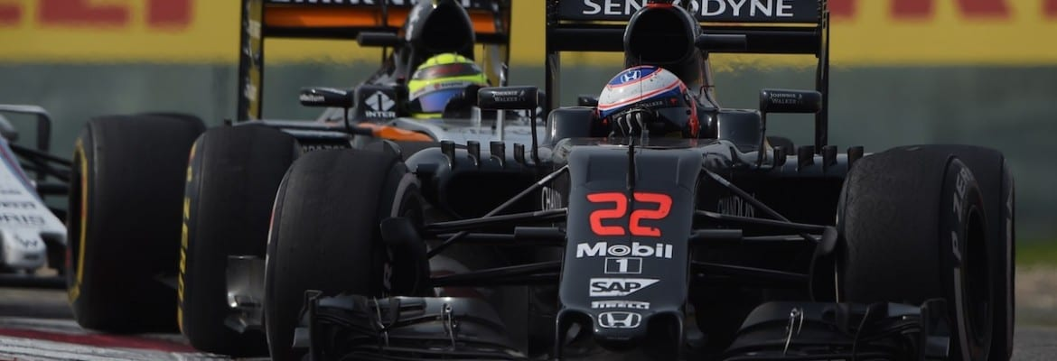Jenson Button (McLaren) - GP da China