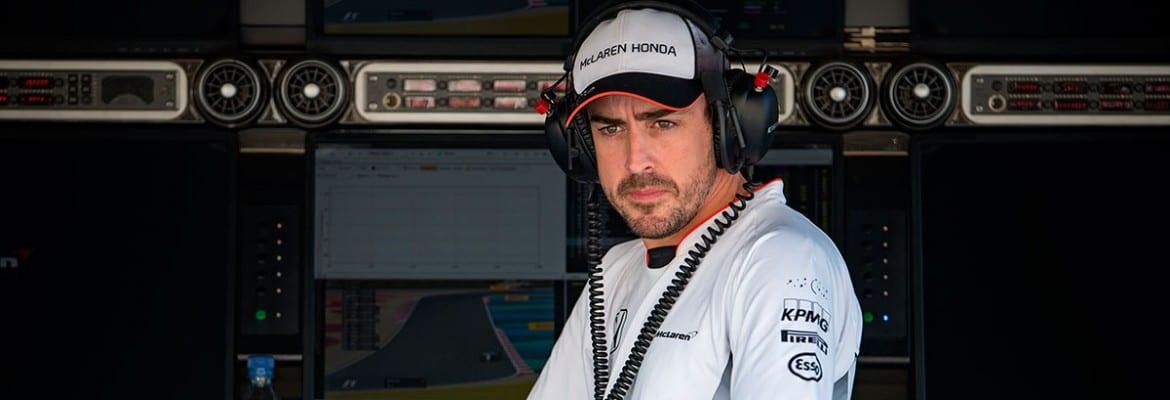 Fernando Alonso (McLaren) - GP do Bahrain