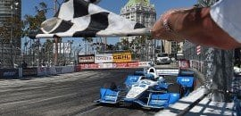 Simon Pagenaud (Penske) - Long Beach