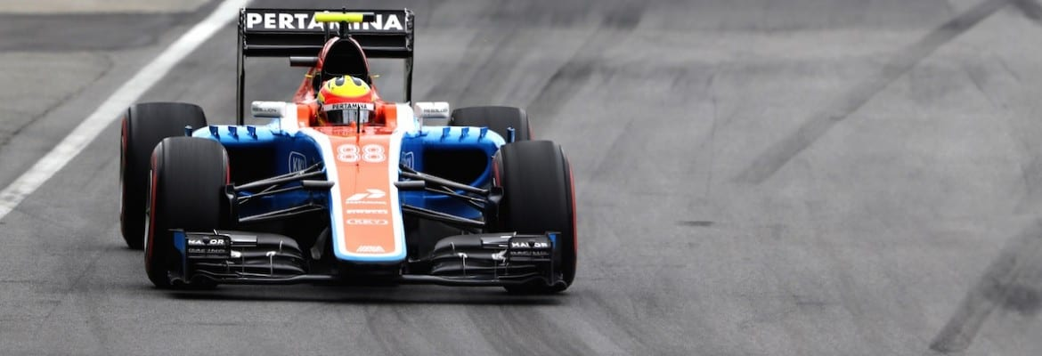 Rio Haryanto (Manor) - GP do Canadá