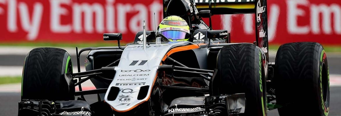 Sergio Perez (Force India) - GP da Hungria
