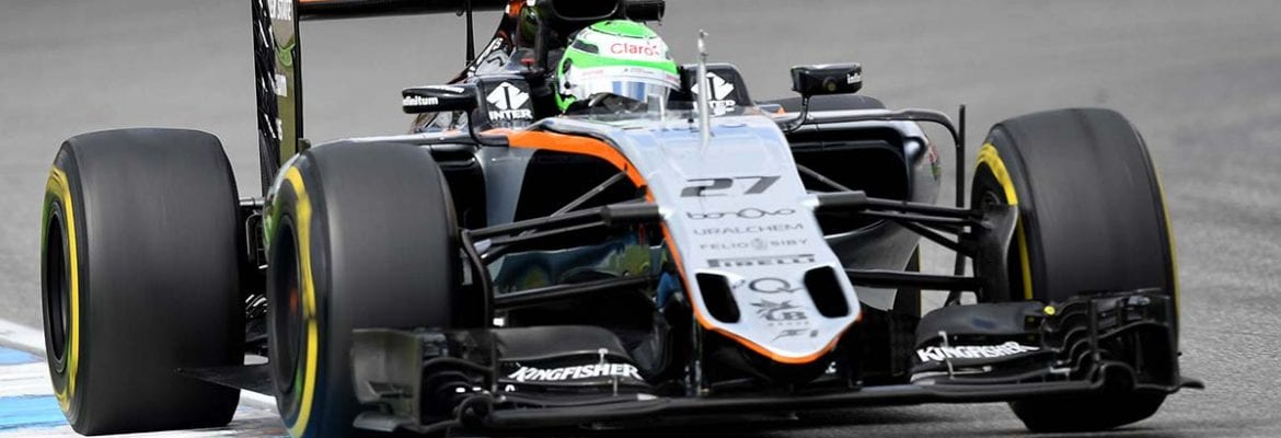Nico Hulkenberg (Force India) - GP da Alemanha