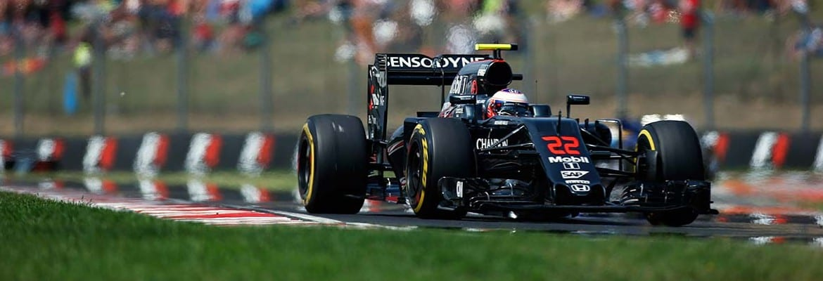 Jenson Button (McLaren) - GP da Hungria