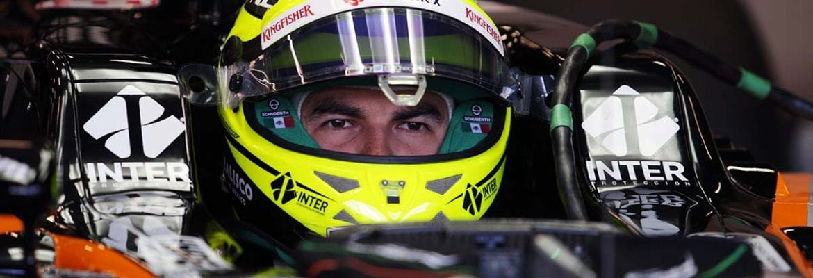 Sergio Perez (Force India) - GP da Bélgica