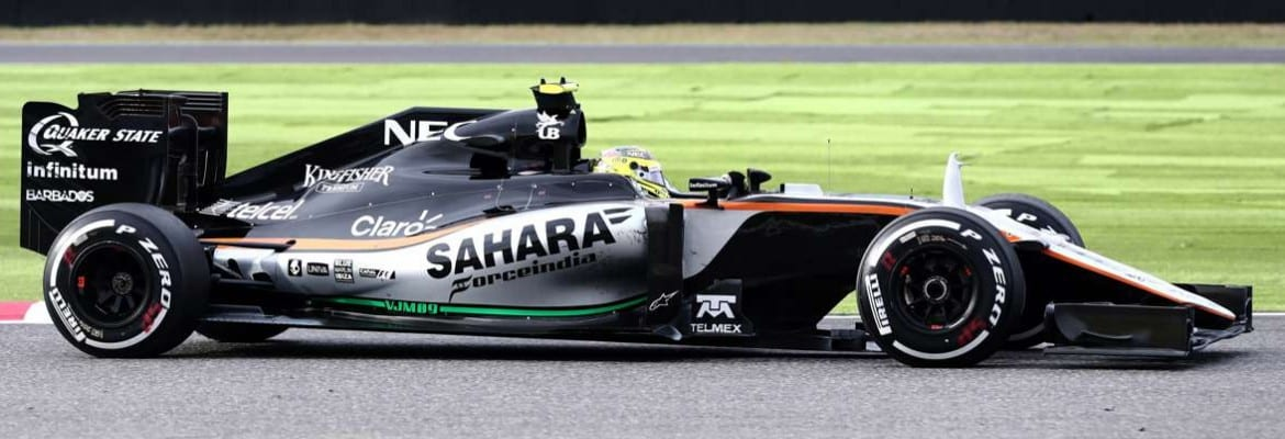 Sergio Perez (Force India) - Gp do Japão