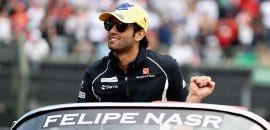 Felipe Nasr (Sauber) - GP do México