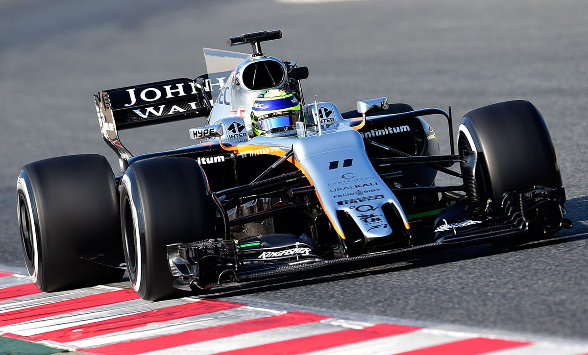 Sergio Perez (Force India) - Testes Barcelona