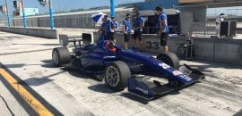 Matheus Leist (Carlin) - Indy Lights