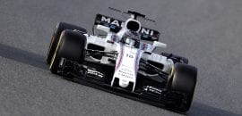 Lance Stroll (Williams) - Testes Barcelona