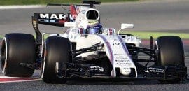 Felipe Massa (Williams) - Testes Barcelona 2017