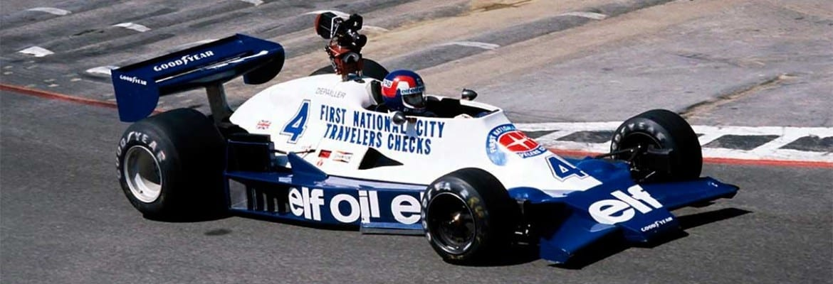 Patrick Depailler, Elf Team Tyrrell 008 - Ford V8. GP USA 1978.