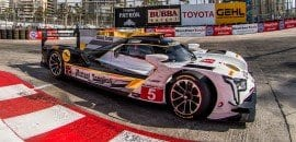 João Barbosa / Christian Fittipaldi (Mustang Sampling Racing Cadillac DPi) - Long Beach