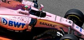 Sergio Perez (Force India) - GP da Rússia