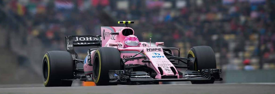 Esteban Ocon (Force India) - GP da China