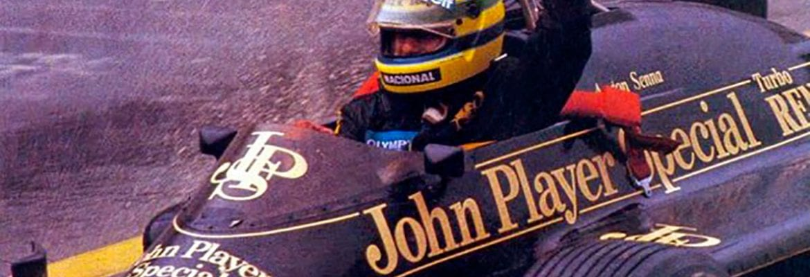 Ayrton Senna (Lotus) - GP de Portugal 1985