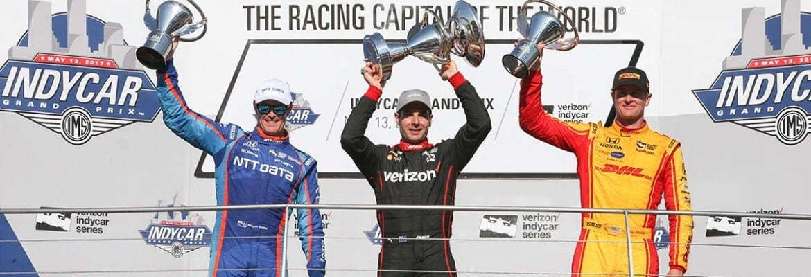 Will Power, Scott Dixon, Ryan Hunter-Reay