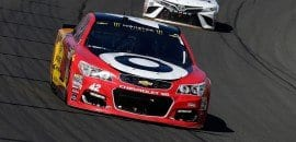 Kyle Larson (Chevrolet) - Michigan