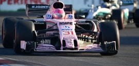 Esteban Ocon (Force India) - GP do Azerbaijão