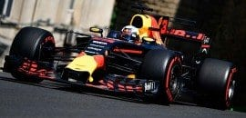 Daniel Ricciardo (Red Bull) - GP do Azerbaijão