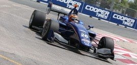 Matheus Leist (Indy Lights) - Toronto