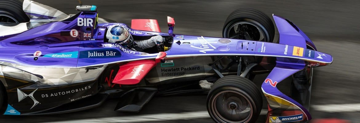 Sam Bird (DS Virgin) - ePrix de Nova York