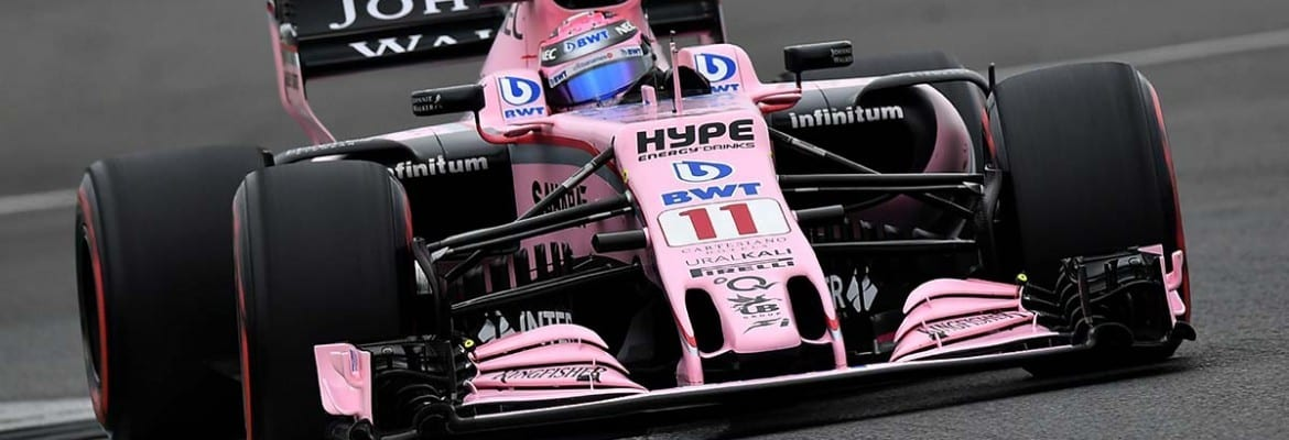 Sergio Perez (Force India) - GP da Grã-Bretanha
