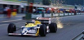 Nelson Piquet (Williams) - GP da Áustria - 1987