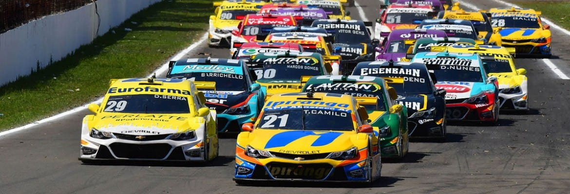 Stock Car - Largada - Londrina