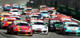 Largada da Porsche GT3 Cup - Interlagos