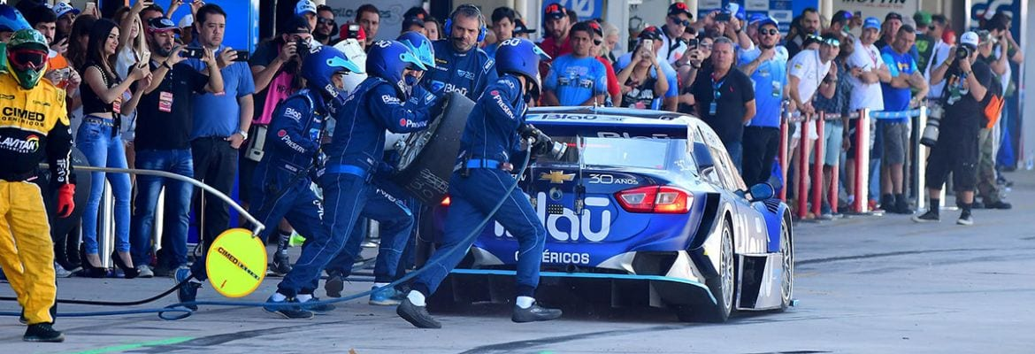 Blau pit-stop - Interlagos