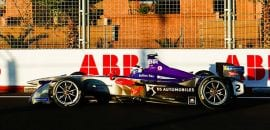 Sam Bird (DS Virgin) - ePrix de Marrakesh