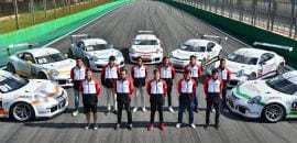A primeira turma do Carrera Cup Junior Program