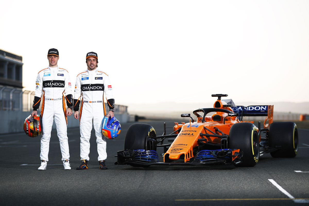 galeria confira o laranja e azul da nova mclaren mcl33 para a f1 2018 f rmula 1 f1mania. Black Bedroom Furniture Sets. Home Design Ideas