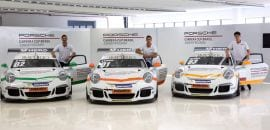 Primeiros vencedores do Junior Program - Porsche GT3