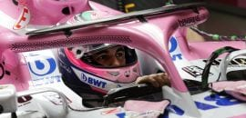 Sergio Perez (Force India) - Havaianas