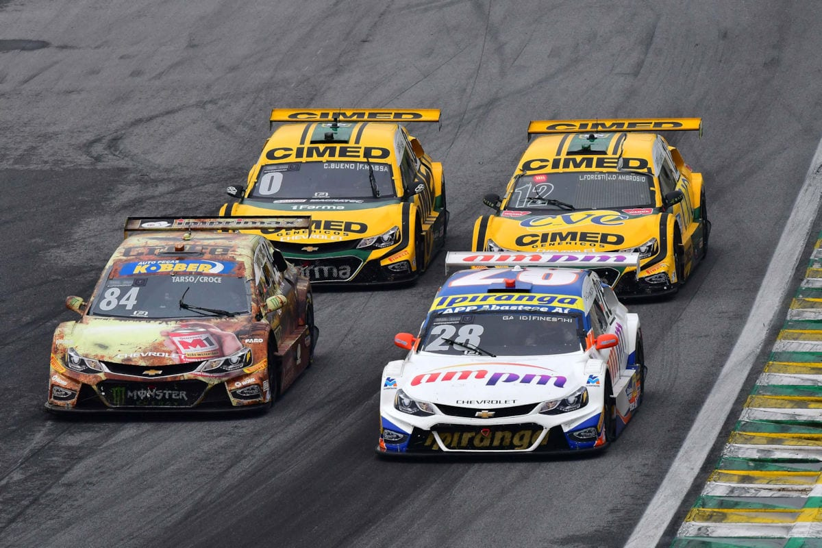 Disputa em Interlagos - Stock Car