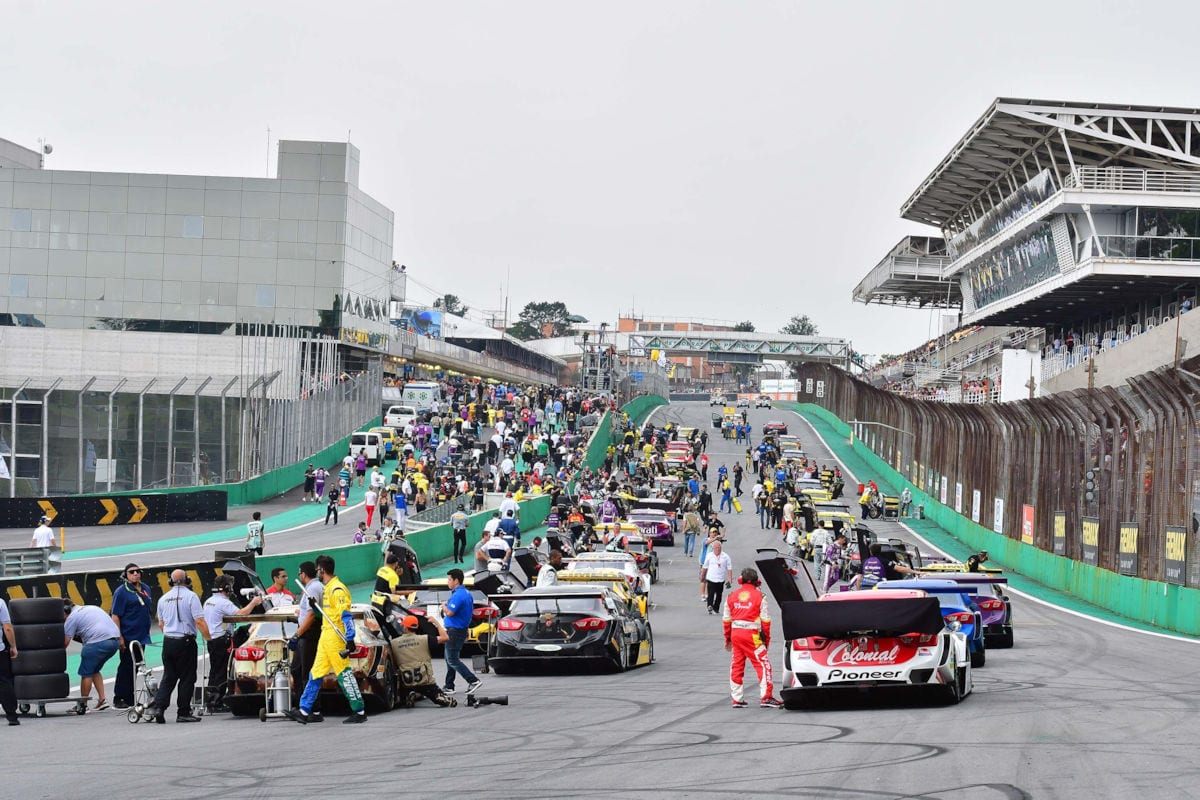 Grid Corrida de Duplas - Stock Car - Interlagos