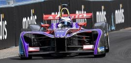 Sam Bird (DS Virgin) - ePrix de Roma