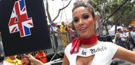 grid girls - GP de Mônaco