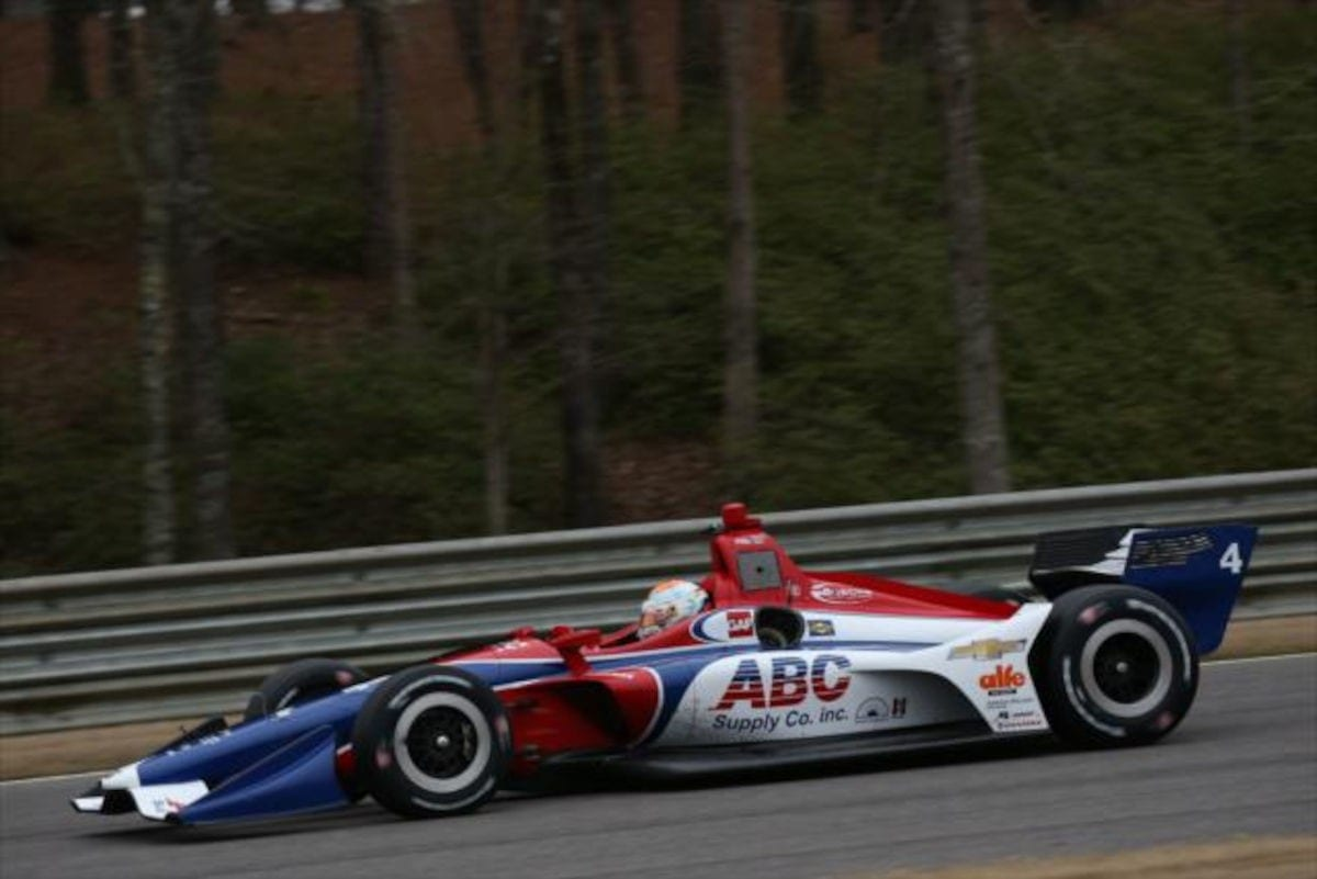 Matheus Leist - IndyCar - Barber