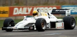 Ayrton Senna - Williams FW08C