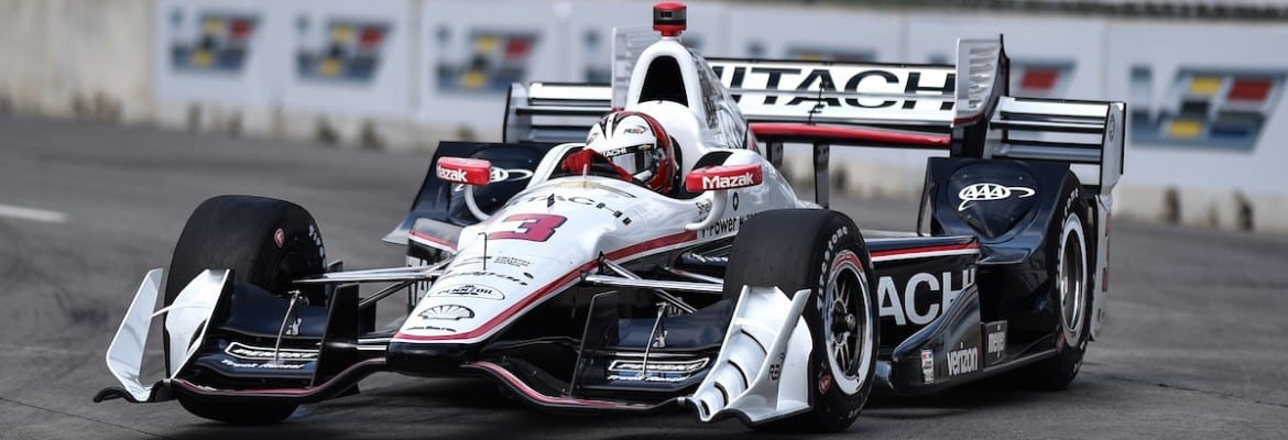 Helio Castroneves (Penske) - Detroit